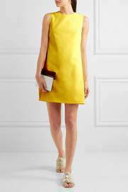 Coley crepe mini dress