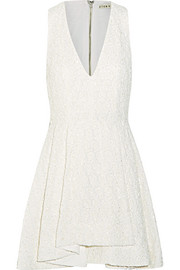 Tanner beaded embroidered cotton mini dress