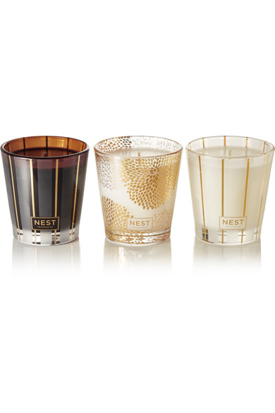 NEST Fragrances - Holiday Trio Set Of Three Candles, 3 X 127g - one size