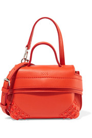 Tod's Wave Charm micro leather shoulder bag