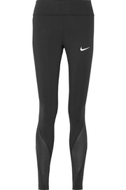 Nike Power Epic mesh-paneled Dri-FIT stretch leggings