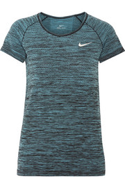 Nike Paneled Dri-FIT stretch T-shirt