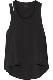 Nike Flex Training cutout perforated Dri-Fit stretch tank