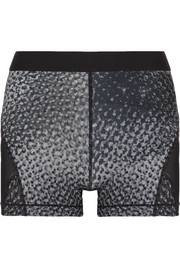 Hypercool Dri-FIT mesh-paneled printed stretch shorts