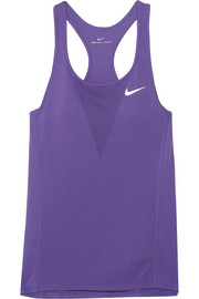 Zonal Relay perforated stretch-jersey tank