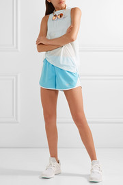 Dry Tempo mesh-trimmed shell shorts