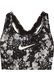 Nike Pro Classic printed Dri-FIT stretch sports bra