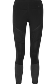 Nike Power Legendary mesh-paneled Dri-FIT stretch leggings