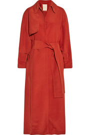 Roksanda Melba silk-satin coat
