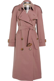 The Haughton cotton-gabardine trench coat