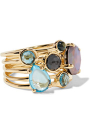 Ippolita Rock Candy 18-karat gold multi-stone ring