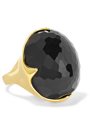 Ippolita Rock Candy King 18-karat gold onyx ring
