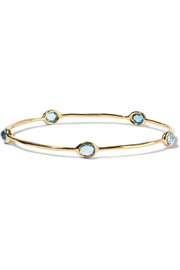 Ippolita Rock Candy Lollipop 18-karat gold topaz bracelet