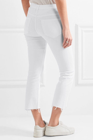 Mother | The Insider cropped high-rise skinny jeans | NET-A-PORTER.COM