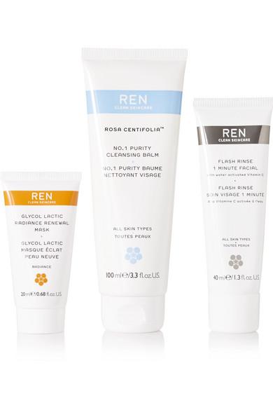 REN Skincare - Ren Pure Glow Trio - Colorless