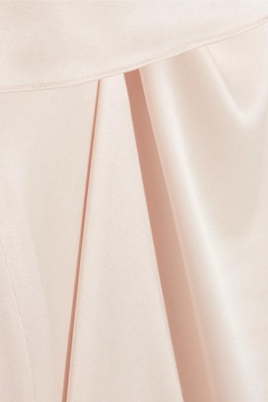 Halston Heritage Mehrlagiges Kleid aus Satin Rabatt Günstiger Preis Hohe Qualität Zu Verkaufen Günstig Kaufen Finish Uvudafx3c