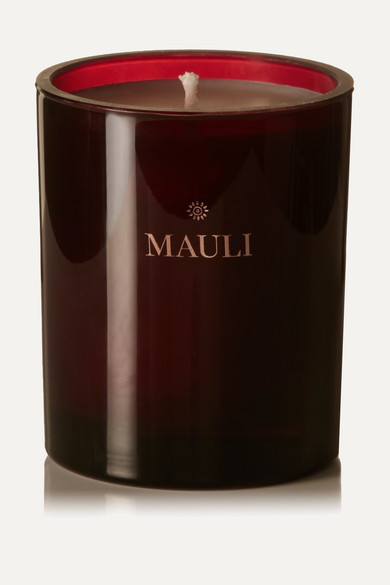 MAULI RITUALS Sundaram & Silence Scented Candle, 210G in Red