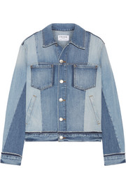FRAME Patchwork denim jacket
