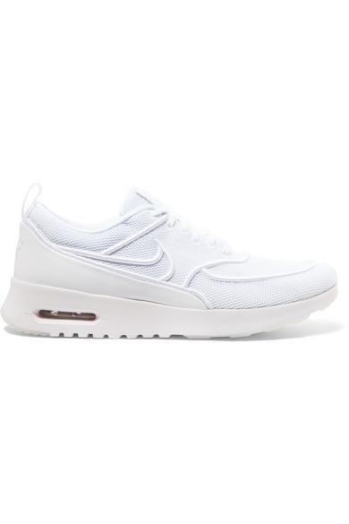 e026445429e37d Nike. Air Max Thea Ultra mesh and leather sneakers