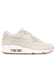 Nike Air Max 90 Premium snake-effect leather and mesh sneakers