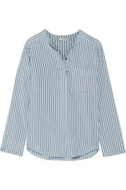 Vince Striped silk shirt