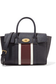 Mulberry The Bayswater small paneled textured-leather tote