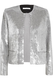 IRO Omana sequined tulle jacket