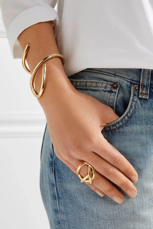 Jennifer Fisher Large Root gold-plated cuff