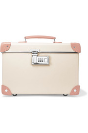 "Centenary 13"" leather-trimmed fiberboard vanity case"