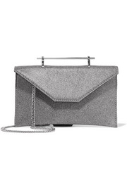 M2Malletier Annabelle glittered leather shoulder bag