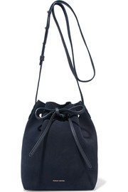 Mansur Gavriel Mini suede bucket bag