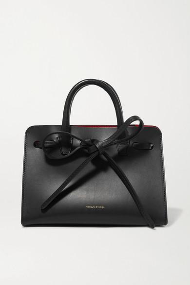 Sun mini mini leather tote