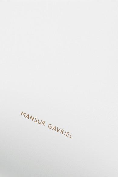 Mansur Gavriel Mini Mini Beuteltasche aus Leder