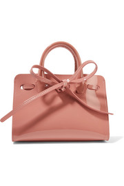 Mansur Gavriel Sun mini mini patent-leather tote