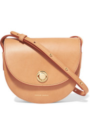 Mansur Gavriel Saddle mini leather shoulder bag