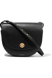 Mansur Gavriel Saddle leather shoulder bag