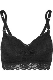 Never Say Never Mommie stretch-lace nursing bra
