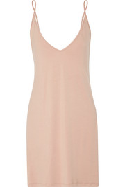 Minimalista stretch-jersey nightdress