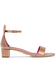 Oscar Tiye Minnie satin sandals