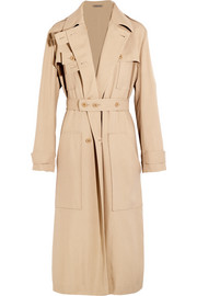 Bottega Veneta Woven silk trench coat