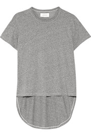The Shirttail marled jersey T-shirt