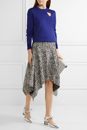 Proenza Schouler Cutout cotton-blend sweater