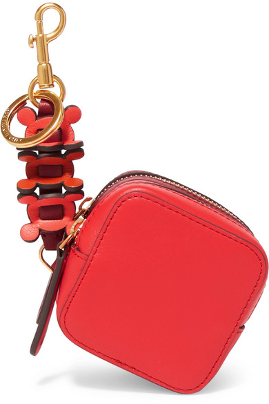 Anya Hindmarch - Circulus Leather Coin Purse - Red