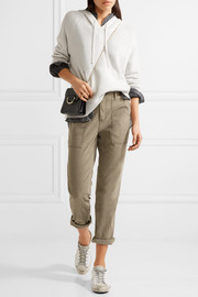James Perse Workwear cotton-blend straight-leg pants