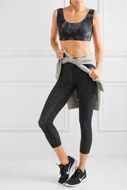 Monreal London Tribal printed sports bra