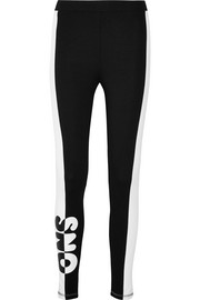 Topshop Sno Printed stretch-jersey leggings