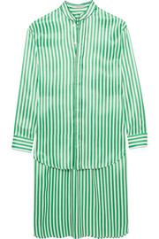 Etro Oversized striped silk shirt