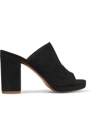 Abrice suede mules