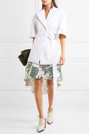 Marni Belted cotton jacket