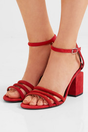 Alexander Wang Caged Abby suede sandals